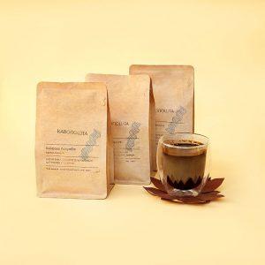 набір кави з чашкою