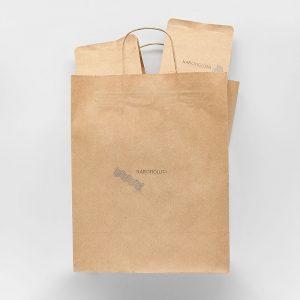 Пакет крафтовий подарунковий для кави